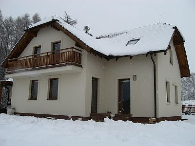 New family house in Pyšely: using the SPLIT air-water heat pump