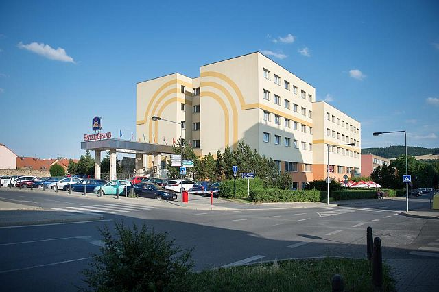 Hotel GRAND Beroun: with the use of SPLIT air-water heat pumps