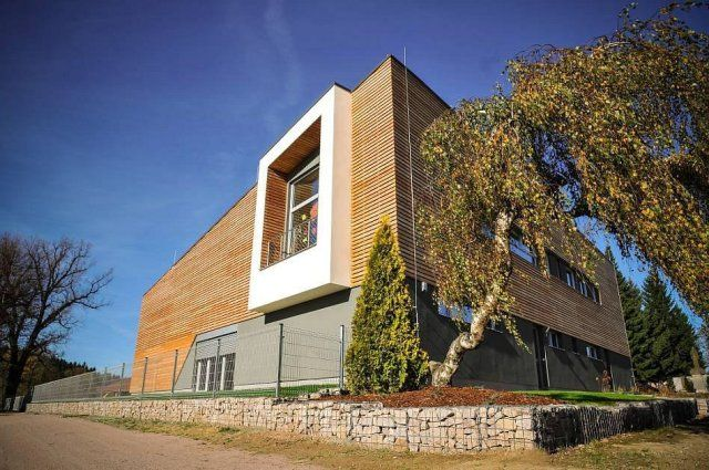 ELADA multipurpose center in Bystré: using the SPLIT air-water heat pump