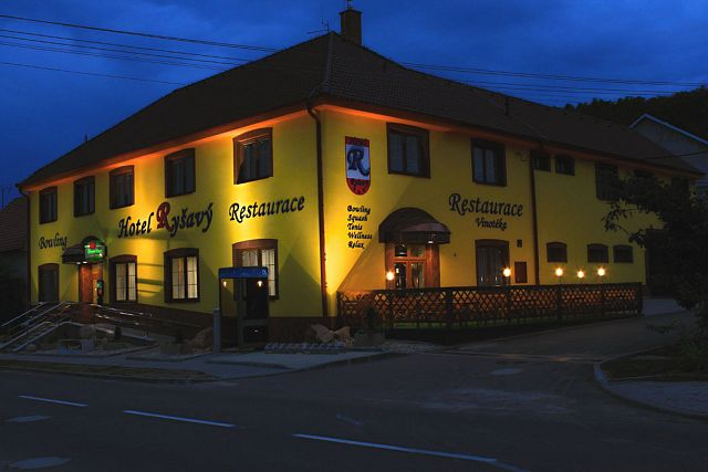 Hotel Ryšavý in Vémyslice: with the use of SPLIT air-water heat pumps