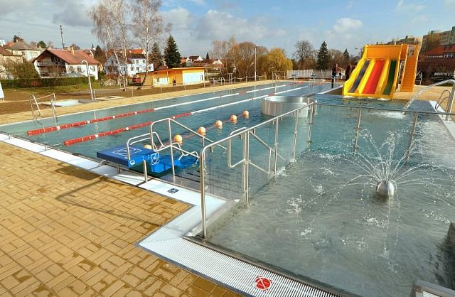 AQUAPARK in Velešín: using PERFORMANCE air-water heat pumps