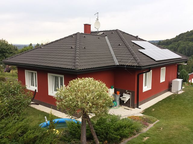 New family house in Studnice: using ECONOMIC air-water heat pump